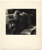 view Edith Halpert with her dog digital asset number 1