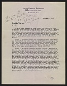 view Forbes Watson letter to Olin Dows digital asset number 1