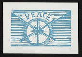 view Werner Drewes christmas card to unidentified recipient digital asset number 1