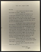 view Edward Hopper letter to Guy Pène Du Bois digital asset number 1