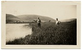 view Frank DuMond fishing at Cape Breton Island digital asset number 1