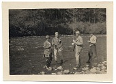 view Frank Vincent DuMond and friends fishing digital asset number 1
