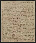 view Henry Inman letter to James McMurtrie digital asset: page