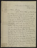 view Timothy Cole, Poughkeepsie, New York letter to Miss Barrus digital asset number 1