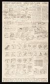 view Exhibition poster for <em>Robert Smithson: Great Salt Lake, Utah</em>, Dwan Gallery, New York City digital asset number 1