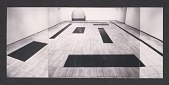 view Installation view of <em>Carl Andre: Cuts</em> at the Dwan Gallery, Los Angeles digital asset number 1