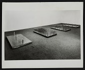 view Installation view of <em>Bed of spikes</em> by Walter De Maria digital asset number 1