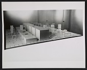 view An installation view of Sol LeWitt's <em>Serial Project #1</em> at the Dwan Gallery in New York digital asset number 1