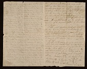 view Thomas Eakins letter to Fanny Eakins digital asset: page 1
