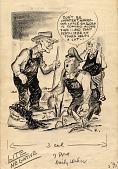 view Cartoon of President Truman digital asset number 1