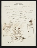 view Margaret D. Engle letters from artists, 1937-1943 digital asset number 1