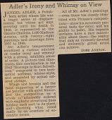 view Eva Lee Gallery records digital asset: Adler, Jankel