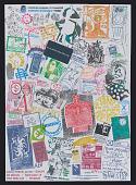 view Ryosuke Cohen mail art to John Evans digital asset number 1