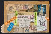 view Michael Leigh mail art to John Evans digital asset number 1