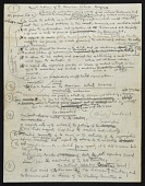 view Notes for a speech on the Constitution of the American Artists' Congress digital asset number 1