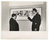 view Arshile Gorky and Fiorello La Guardia at the opening of the Federal Art Gallery digital asset number 1