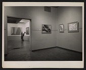 view Installation view of a Lorser Feitelson exhibition digital asset number 1