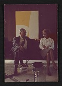 view Photograph of Lorser Feitelson and Helen Lundeberg digital asset number 1