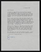 view Rosamund Felsen Letters, 1968-1977 digital asset number 1