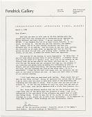 view Barbara Fendrick to Albert Paley digital asset: page 1
