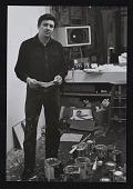 view Portait of Robert Ryman in studio digital asset number 1