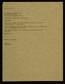view Marilyn Fischbach letter to Museum of Modern Art (New York, N.Y.) digital asset number 1