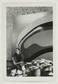 view Robert Mangold in his studio digital asset number 1