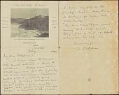 view Charles FitzGerald scrapbooks digital asset: Correspondence: 1902