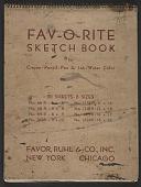 view James Fitzgerald sketchbook #8 digital asset: cover