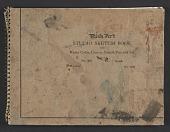 view James Fitzgerald sketchbook #21 digital asset: cover
