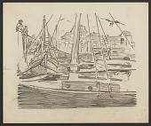 view Sailboats in a harbor digital asset number 1