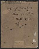 view James Fitzgerald sketchbook #4 digital asset: cover