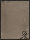 view James Fitzgerald sketchbook #17 digital asset: cover