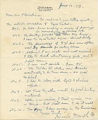 view Reginald Marsh, New York, N.Y. letter to Lawrence Arthur Fleischman digital asset number 1