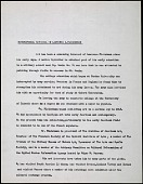view Lawrence and Barbara Fleischman papers digital asset: Biographical Account and Certificate of Appreciation