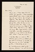 view Edgar Preston Richardson letter to Lawrence Arthur Fleischman, Detroit, Mich. digital asset number 1