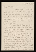 view Charles Ephraim Burchfield letter to Lawrence Arthur Fleischman, Detroit, Mich. digital asset number 1