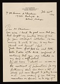 view Philip Evergood, Oxford, Connecticut letter to Lawrence Arthur Fleischman, Detroit, Mich. digital asset number 1