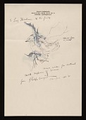 view Philip Evergood, Oxford, Connecticut note to Lawrence Arthur Fleischman, Detroit, Mich. digital asset number 1