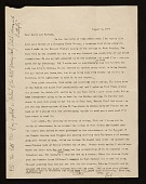 view Charles B. Culver letter to Lawrence and Barbara Fleischman, Detroit, Mich. digital asset number 1