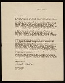 view Richard Lippold, New York, N.Y. letter to Lawrence Arthur Fleischman, Detroit, Mich. digital asset number 1