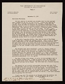 view Aaron Bohrod, Madison, Wis. letter to Lawrence Arthur Fleischman, Detroit, Mich. digital asset number 1