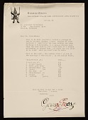view George Grosz, Huntington, N.Y. letter to Lawrence Arthur Fleischman, Detroit, Mich. digital asset number 1