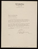view John Canaday, New York, N.Y. letter to Barbara Fleischman, Detroit, Mich. digital asset number 1