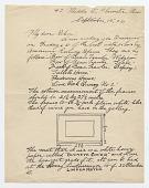view Edward Hopper letter to Frank Knox Morton Rehn digital asset: page 1
