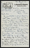 view Josephine Hopper letter to Frank K. M. Rehn digital asset number 1