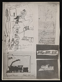 view Reginald Marsh childhood drawings (photostat) digital asset number 1