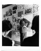 view John R. Frazier lecturing at Rhode Island School of Design digital asset number 1