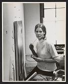 view Deborah Remington in her studio digital asset number 1