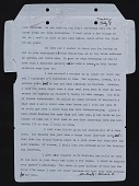 view Romare Bearden letter to Darthea Speyer digital asset number 1